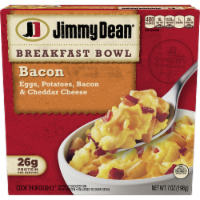 Jimmy Dean Bacon Egg Potato & Cheese Breakfast Bowl Frozen Meal