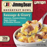Jimmy Dean Sausage & Gravy Breakfast Bowl Frozen Meal - 7 oz