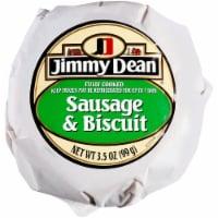 Jimmy Dean® Sausage Biscuit, 3.5 oz, 12 Count, 2.63 Lbs - 3.5 oz Sandwich, 12 count