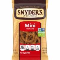 Snyder's of Hanover, Mini Pretzels, 1.5 Oz. Bag (60 Count) - 60 Count