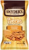 Snyder's of Hanover Cheddar Cheese Pretzel Pieces - 12 oz
