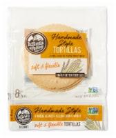 Handmade Style Yellow Corn & Wheat Tortillas - 6