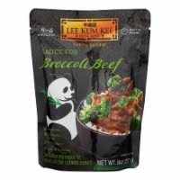 Lee Kum Kee Sauce - Ready to Serve - Broccoli Beef - 8 oz - case of 6 - Case of 6 - 8 OZ each
