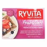 Ryvita Crisp Bread Crispbread - Currants Seeds and Oats - Case of 8 - 7 oz. - 7 OZ