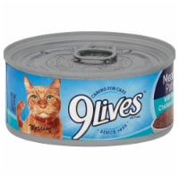 9Lives Chicken and Tuna Meaty Pate Wet Cat Food