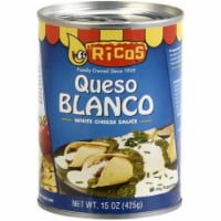 Rico's Queso Blanco Cheese Sauce, 15 oz [Pack of 12] - 12