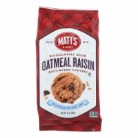 Matt's Bakery Oatmeal Raisin Soft-Baked Cookies  - Case of 6 - 14 OZ