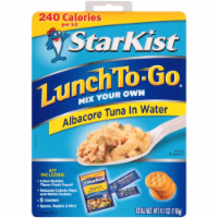 Starkist, Lunch To-Go, Albacore Tuna In Water, 4.1 oz. (12 count) - 12 Count