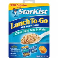 Starkist, Lunch To-Go, Chunk Light Tuna In Water, 4.1 oz. (12 count) - 12 Count