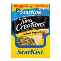 StarKist Tuna Creations Lemon Pepper Tuna Pouches Case Sale - 24 ct / 2.6 oz
