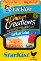 StarKist Chicken Creations Chicken Salad Pouch Case - 12 ct / 2.6 oz