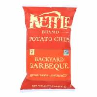 Kettle Brand Potato Chips - Backyard Barbeque - Case of 12 - 8.5 oz. - 8.5 OZ