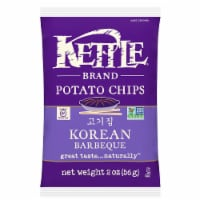 Kettle Foods Korean Barbeque Potato Chips, 2 Ounce -- 6 per case.