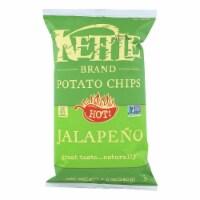 Kettle Brand Potato Chips - Jalapeno - Case of 12 - 8.5 oz. - 8.5 OZ