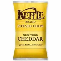Kettle Foods New York Cheddar Potato Chips, 1.5 Ounce -- 24 per case. - 24-1.5 OUNCE