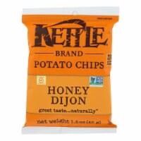 Kettle Brand Potato Chips - Honey Dijon - Case of 24 - 1.5 oz. - 1.5 OZ