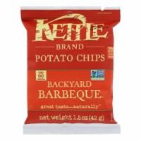 Kettle Brand Potato Chips - Backyard Barbeque - 1.5 oz - case of 24 - 1.5 OZ