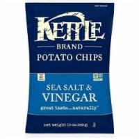 Kettle Foods Sea Salt and Vinegar Potato Chips, 13 Ounce -- 9 per case.