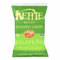 Kettle Brand - Potato Chips Jalapeno - Case of 9 - 13 OZ - 13 OZ