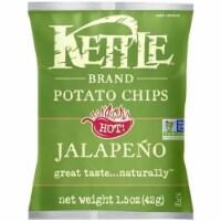 Kettle Jalapeno Potato Chips, 1.5 Ounce -- 64 per case. - 64-1.5 OUNCE