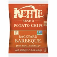 Kettle Backyard Barbeque Potato Chips, 1.5 Ounce -- 64 per case.