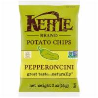 Kettle Foods Pepperoncini Potato Chips, 2 Ounce -- 6 per case. - 6-2 OUNCE