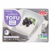 Mori-Nu Silken Tofu - Lite Firm - Case of 12 - 12.3 oz. - 12.3 OZ