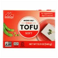 Mori-Nu Soft Silken Tofu - Tetra - Case of 12 - 12 oz. - 12 OZ