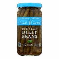 Tillen Farms Beans - Pickled - Crispy Dilly - 12 oz - case of 6 - Case of 6 - 12 OZ each