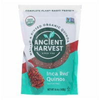 Ancient Harvest Organic Quinoa - Inca Red Grains - Case of 12 - 14.4 oz