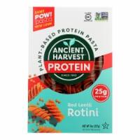 Ancient Harvest Pasta - Supergrain - Red Lentil and Quinoa Rotelle - 8 oz - case of 6