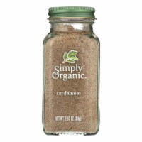 Simply Organic Cardamom - Case of 6 - 2.82 oz. - Case of 6 - 2.82 OZ each