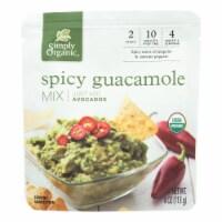 Simply Organic Guacamole Mix - Case of 6 - 4 OZ