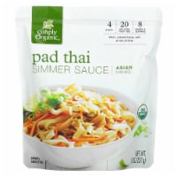 Simply Organic Organic Pad Thai Simmer Sauce, 8 oz [Pack of 6] - 6