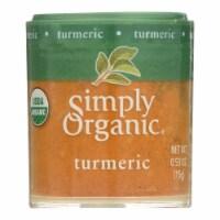 Simply Organic Turmeric Root - Organic - Ground - .53 oz - Case of 6 - Case of 6 - 0.53 OZ each