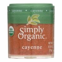 Simply Organic Cayenne Pepper - Organic - 2.89 oz