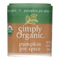 Simply Organic Pumpkin Pie Spice - Organic - .46 oz - Case of 6 - Case of 6 - 0.46 OZ each