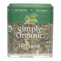 Simply Organic - Mini Organic Tarragon Leaf - Case of 6 - .11 oz - Case of 6 - 0.11 OZ each