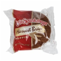 Otis Spunkmeyer Delicious Essentials Harvest Bran Muffin, 4 Ounce -- 24 per case.