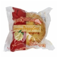 Otis Spunkmeyer Individually Wrapped Lemon Poppy Seed Muffin, 4 Ounce -- 24 per case.