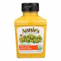 Annie's Naturals Organic Yellow Mustard - Case of 12 - 9 oz.