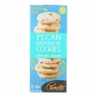 Pamela's Products - Cookies - Pecan Shortbread - Gluten-Free - Case of 6 - 6.25 oz. - 6.25 OZ