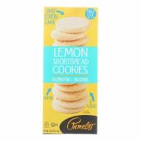 Pamela's Products - Cookies - Lemon Shortbread - Gluten-Free - Case of 6 - 6.25 oz. - 6.25 OZ