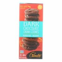 Pamela's Products - Cookies - Dark Chocolate Chunk - Gluten-Free - Case of 6 - 5.29 oz. - 5.29 OZ