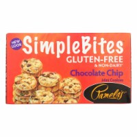 Pamela's Products - Mini Cookies - Chocolate Chip - Case of 6 - 7 oz. - Case of 6 - 7 OZ each