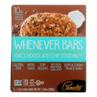 Pamela's Products - Oat Chocolate Chip Whenever Bars - Coconut - Case of 6 - 1.41 oz. - 5/1.41OZ
