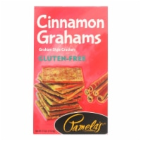 Pamela's Products - Grahams Style Crackers - Cinnamon - Case of 6 - 7.5 oz. - 7.5 OZ