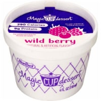 Magic Cup Fortified Nutrition Wild Berry, 4 Ounce - 48 per case - 48 Count