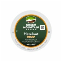 Green Mountain Coffee Hazelnut Flavored Decaf Coffee K-Cup® Pods 24 Count