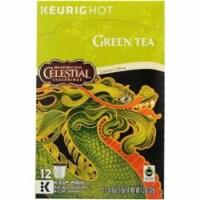 Celestial Seasonings Tea Kcup Green Tea ,12 Pc (Pack Of 6)